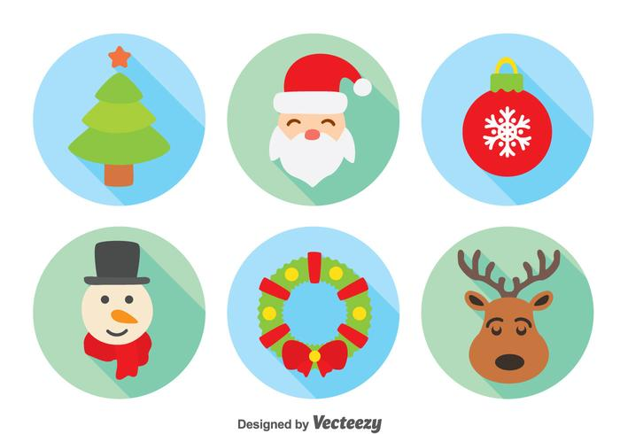 Kerst element collectie vector