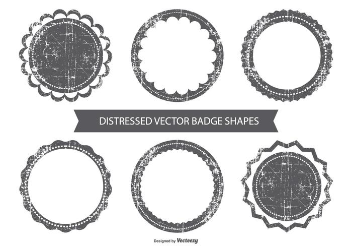 Grunge Vector Badges