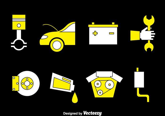 Auto-Wartung Vektor-Set
