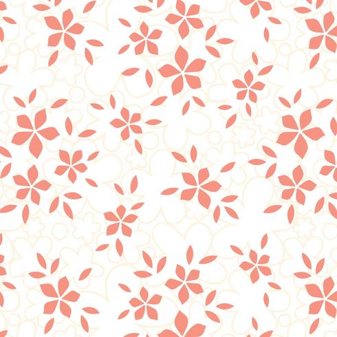 Flower Textura Vector Background
