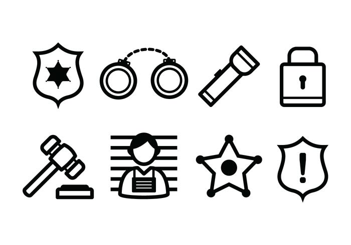 Free Police And Crime Icons