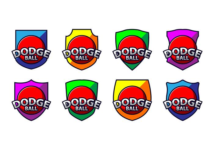 Logo Dodge Ball Logo gratuit