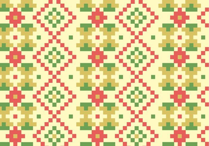 Fundo de padrão de blocos nativos
