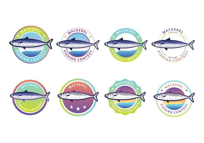 Free Mackerel Badge Pack