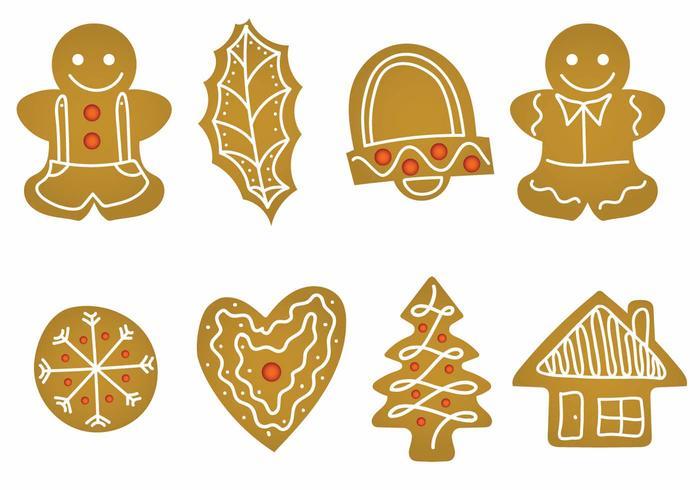 Lebkuchen Icon Set