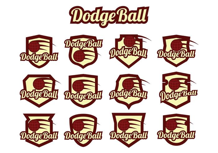 Dodgeball Vector