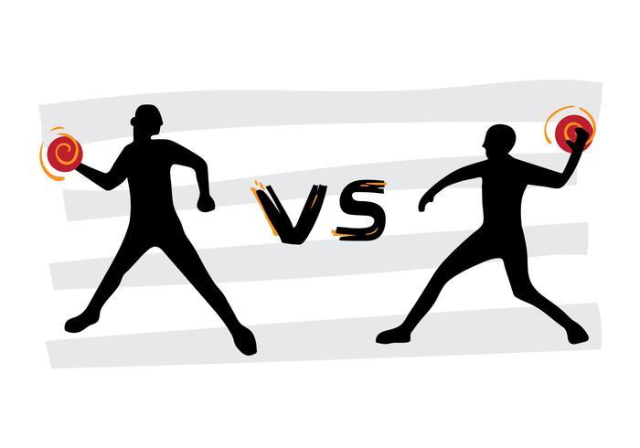 Free Dodgeball VS Tournament Vector Poster - Download Free ...