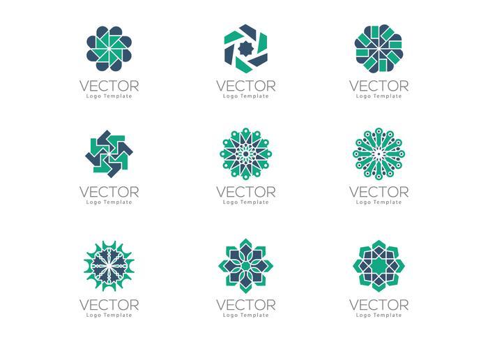 Super Modèles de logo ornemental géométrique en forme d'Arabesque  YR83