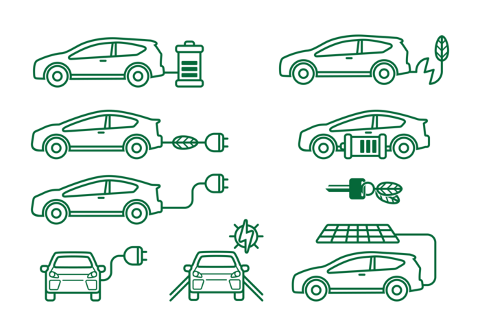 Prius Car Icons