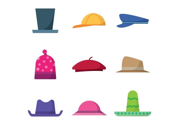 Free Hats Vector