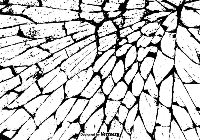 Free Grunge Cracked Texture Vector