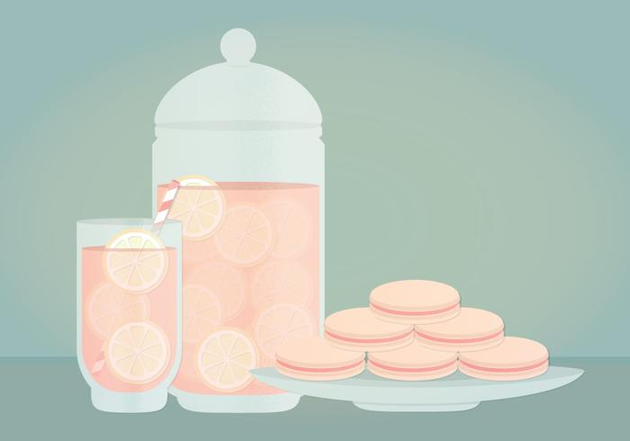 Vector Lemonade Illustration