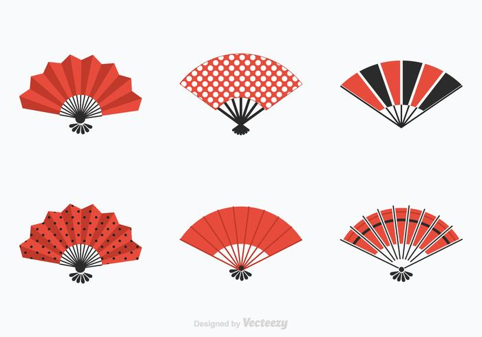 Free Spanish Fan Vector Set