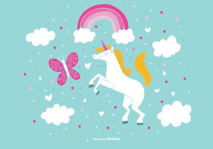 Adorable Unicorn Vectors