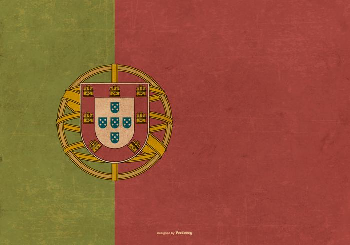 Grunge Flag of Portugal