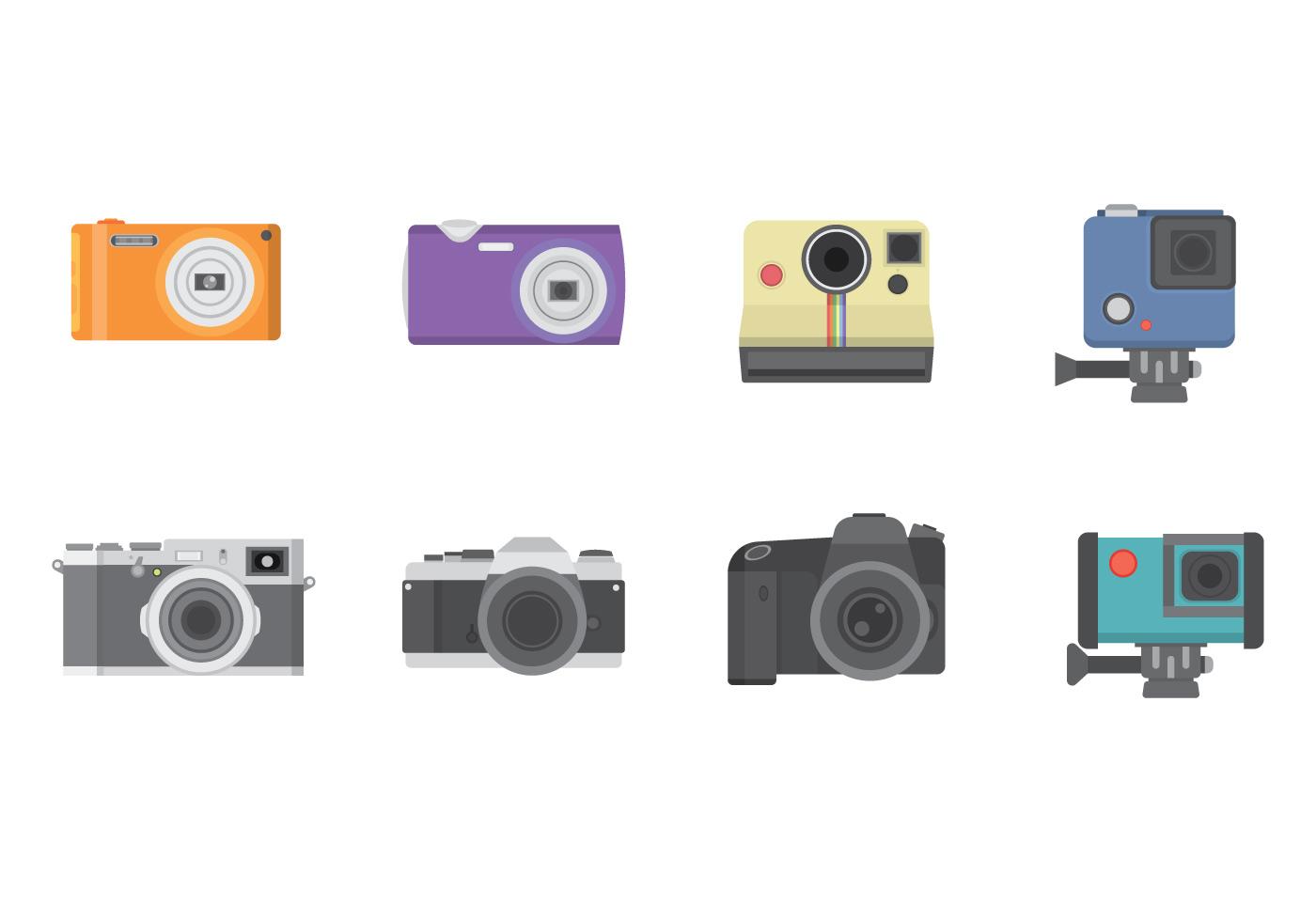 Free camera vector download free vector art stock for Camera gratis