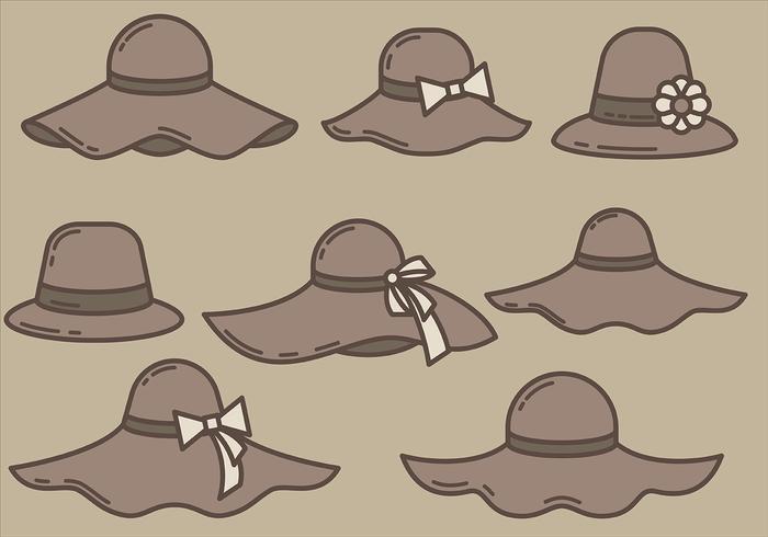 Free Bonnet Icons Vector