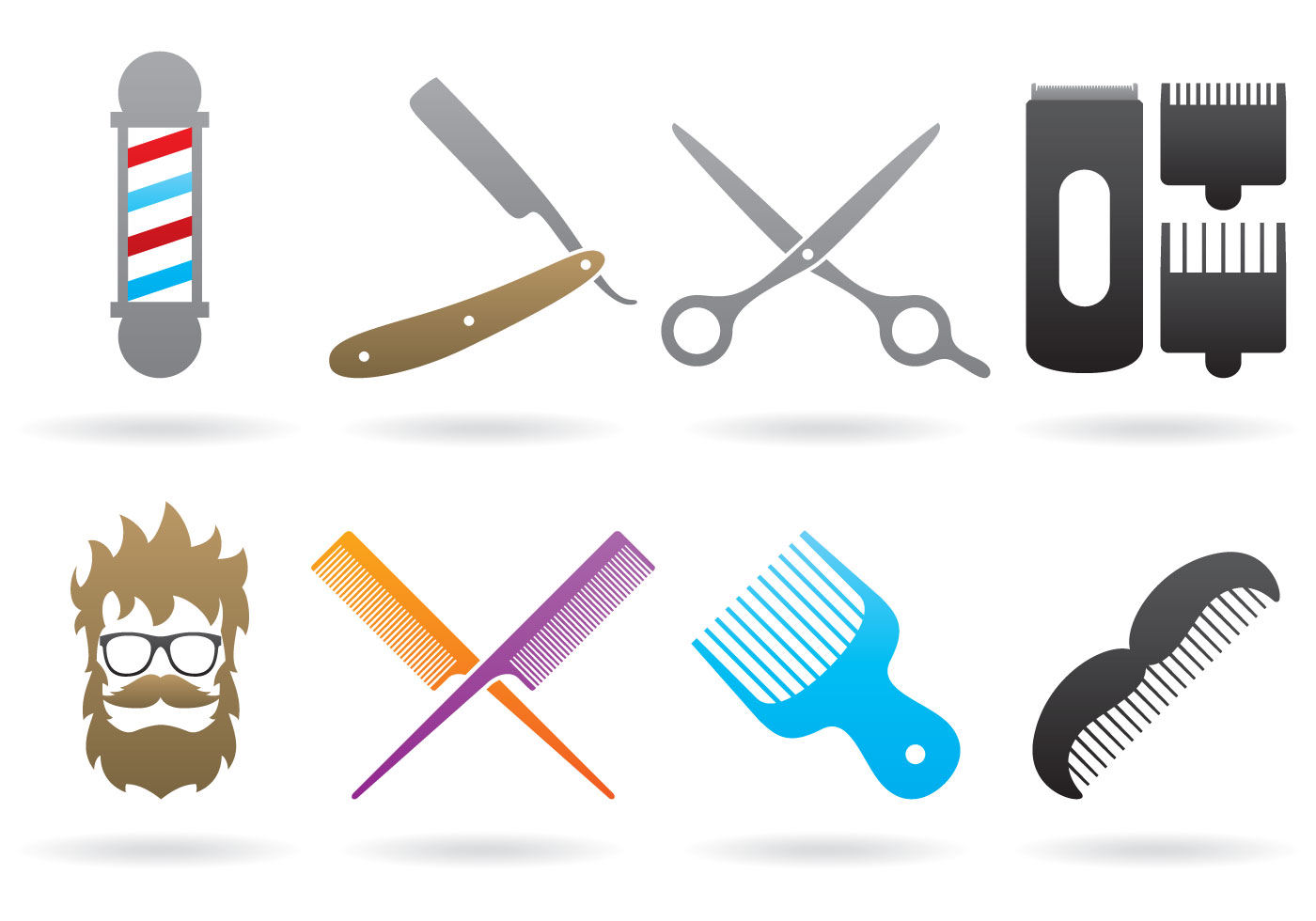 Barber Logos - Download Free Vector Art, Stock Graphics ...