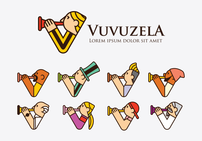 Vuvuzela Logo Icons