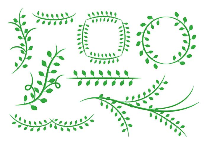 free natural floral green leaves ornament vector stock images page everypixel free natural floral green leaves