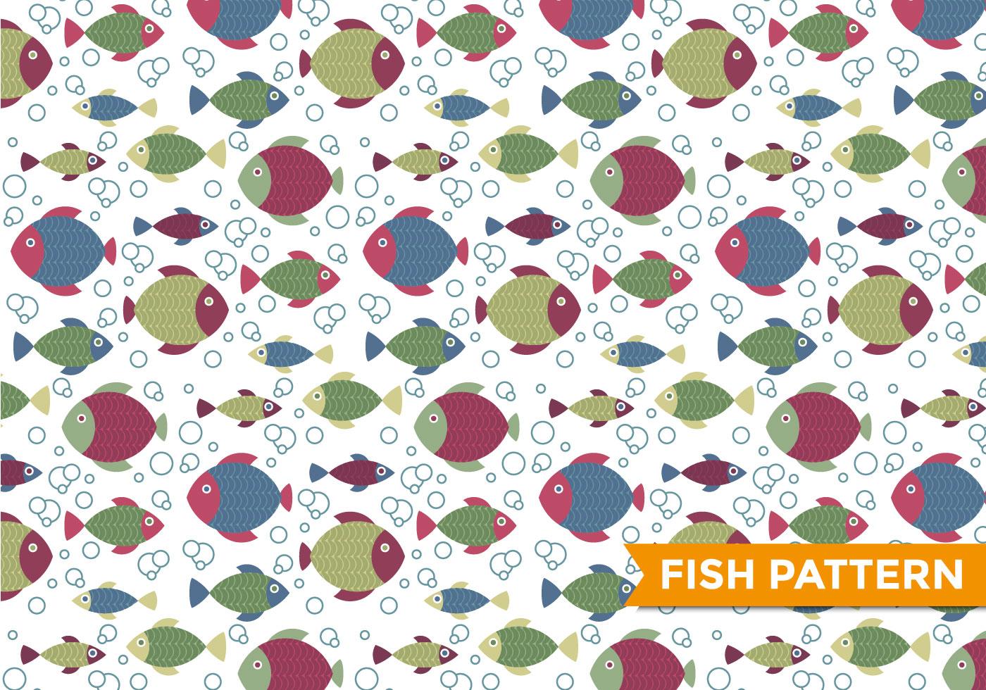 Fish Pattern Vector - Download Free Vector Art, Stock ...