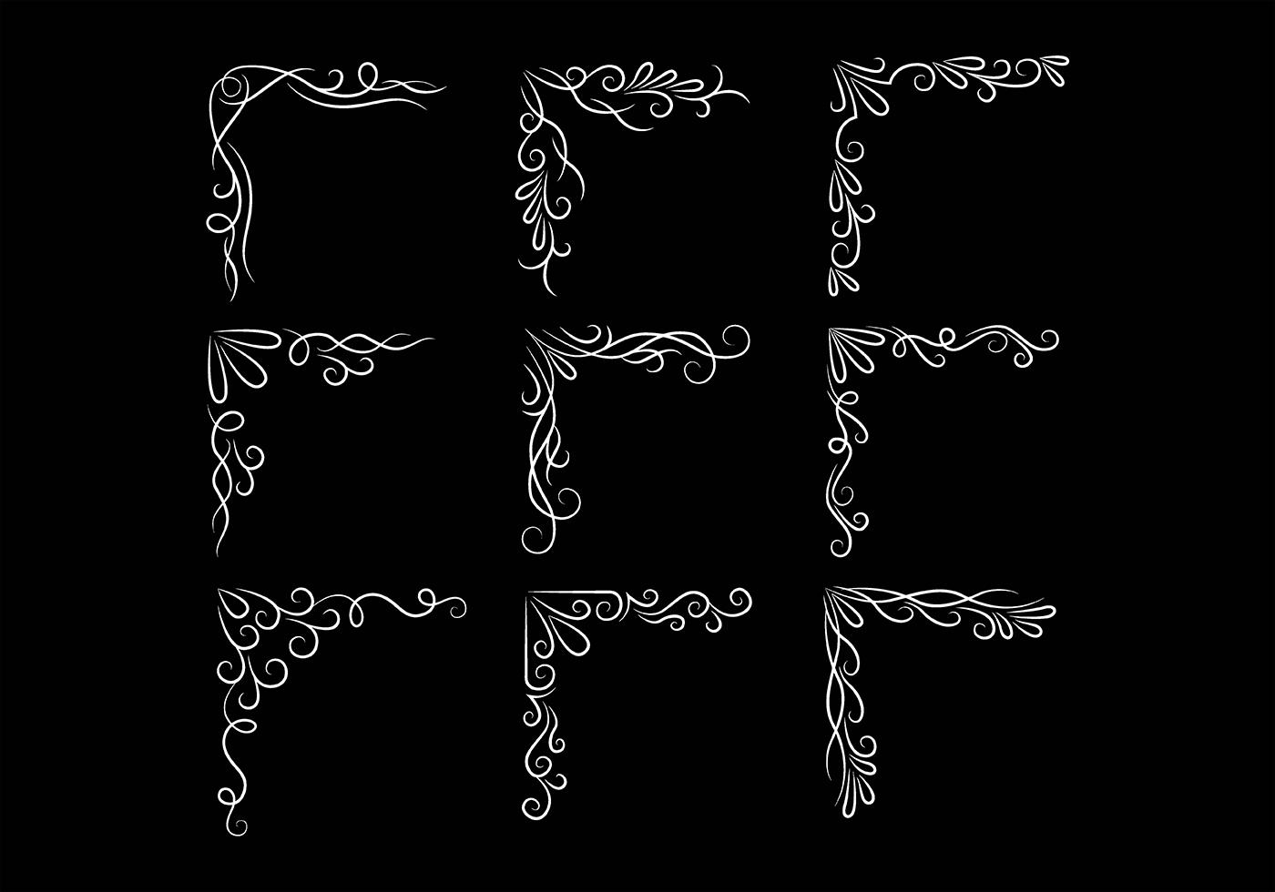 Pinstripe Borders Vectors - Download Free Vector Art ...