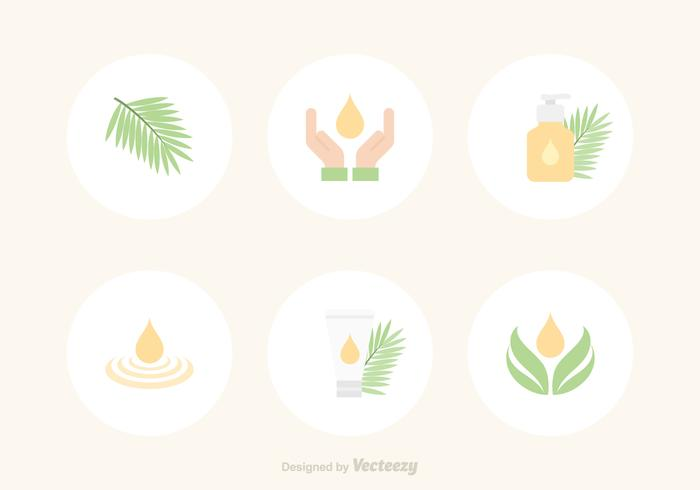 Free Palm Oil Vector Icons