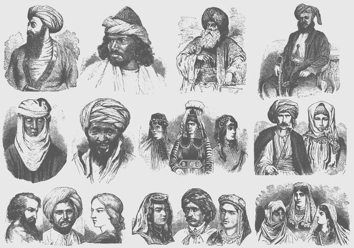 Middle East Turbans