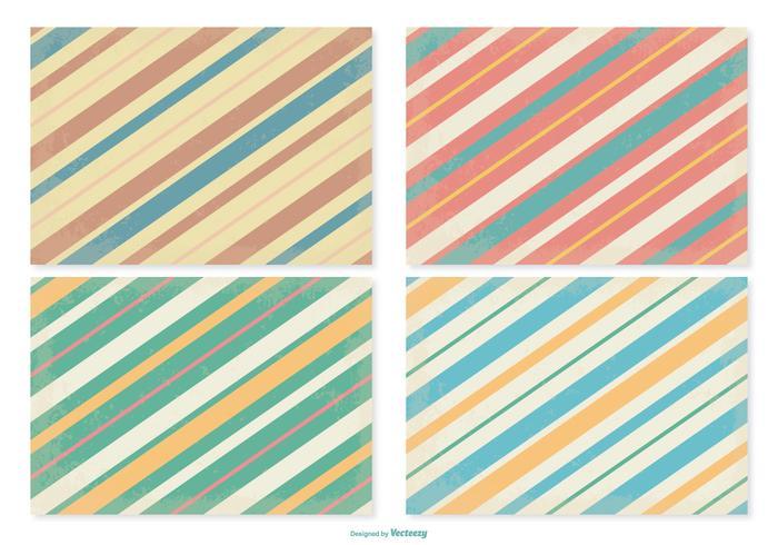 Retro Stripe Patterns