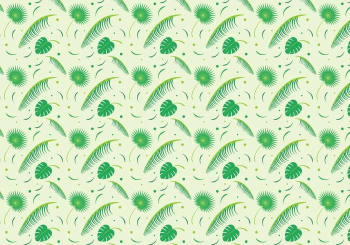 Vettore foglia di palma