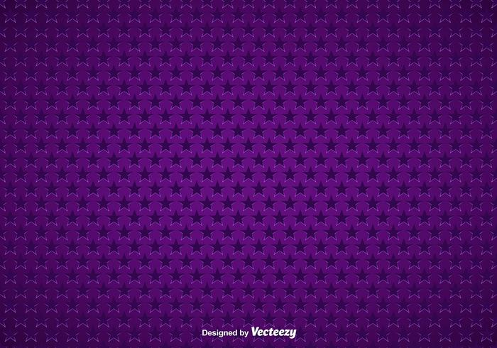 Purple Background With Stars Seamless Pattern