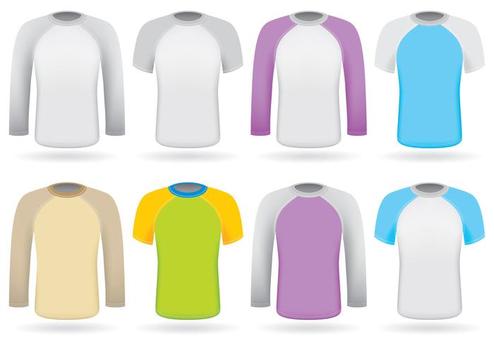 Colorful Raglans