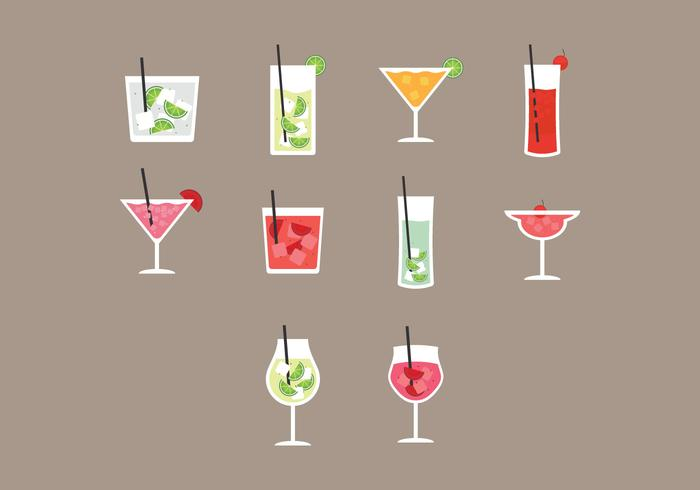 Caipirinha Icon Set