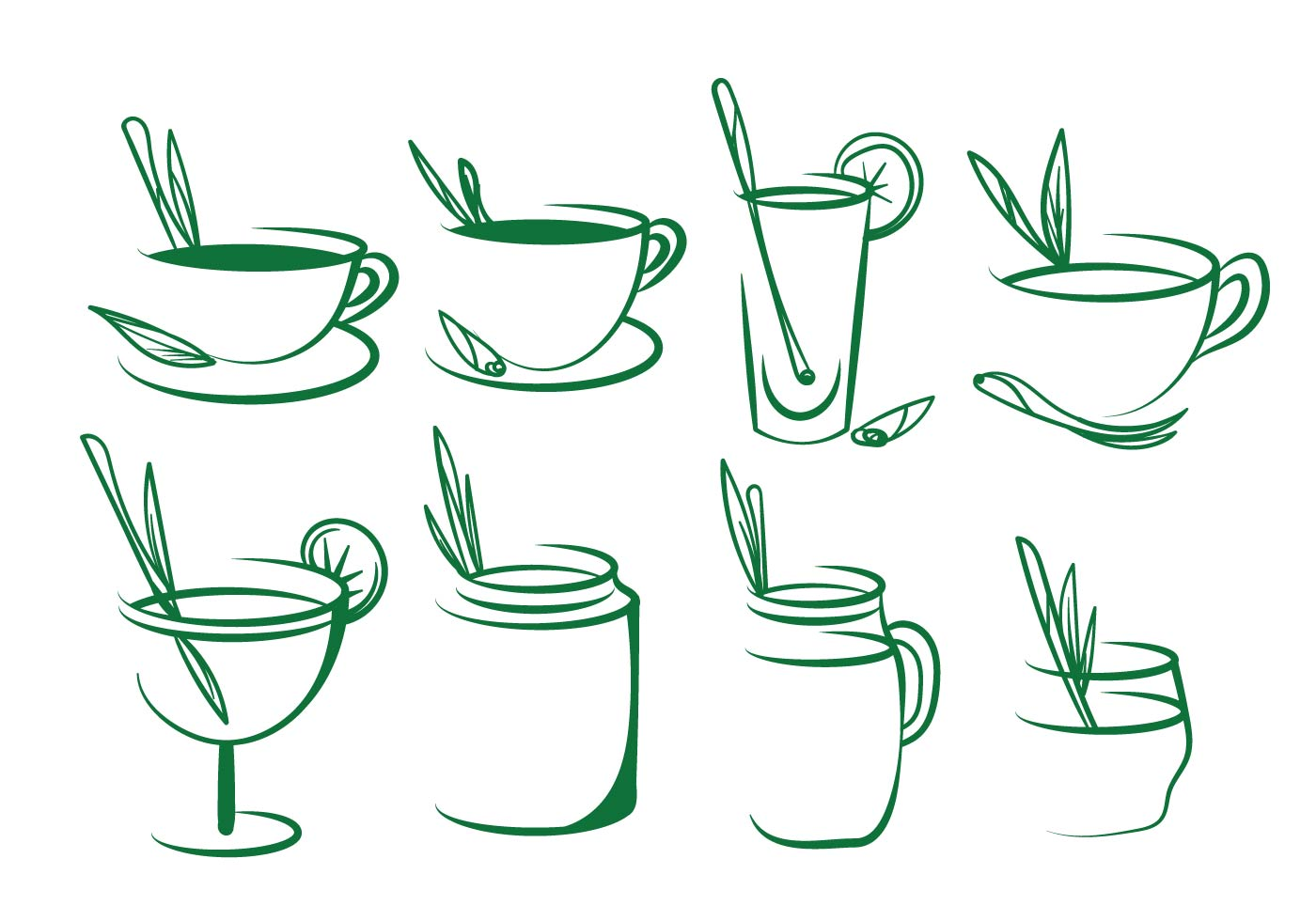 茶葉logo 免費下載 | 天天瘋後製