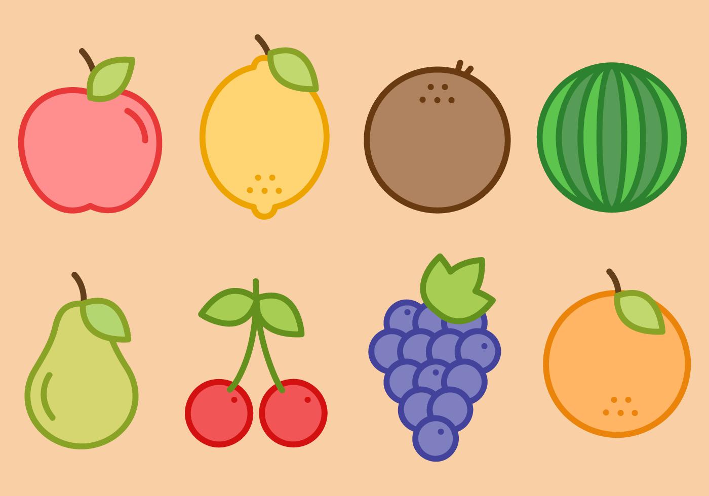 水果插畫 免費下載   天天瘋後製