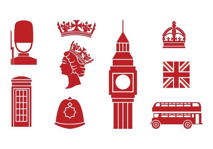 Gratis Engeland Pictogrammen