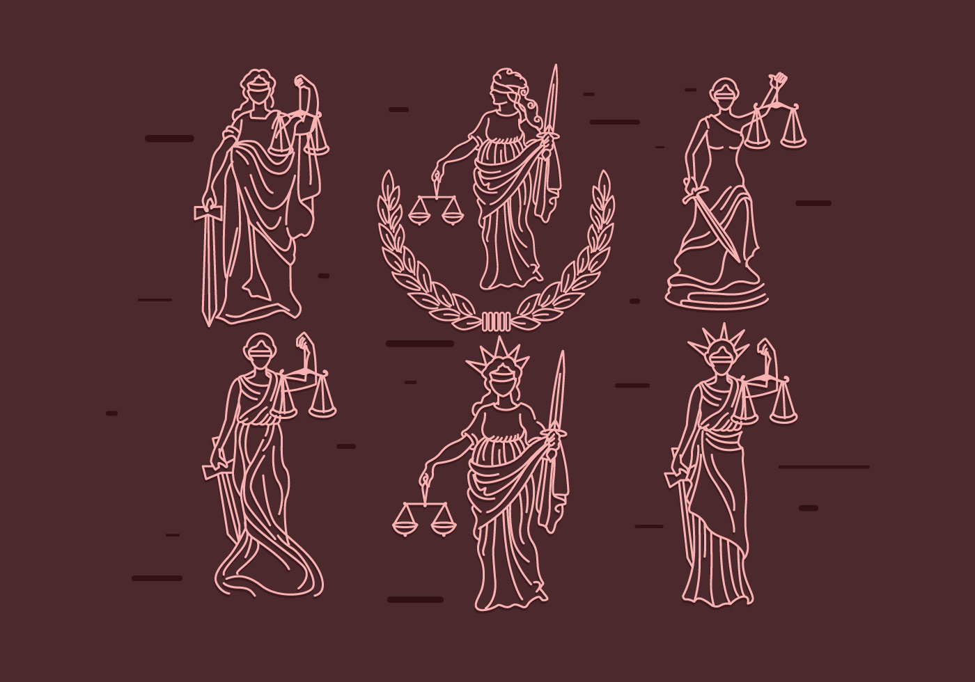 lady justice Lady justice is an allegorical personification of the moral force in judicial systems her attributes are a blindfold, a balance, and a sword she often appears as a pair with prudentia, who.