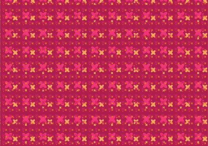Modernes Blumenmuster