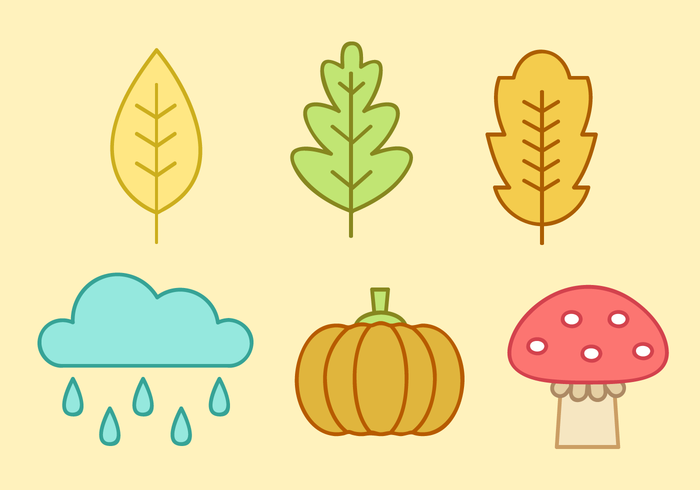Free Autumn Elements Vector
