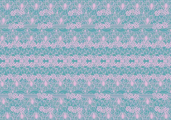 Lace Trim Pattern Vector