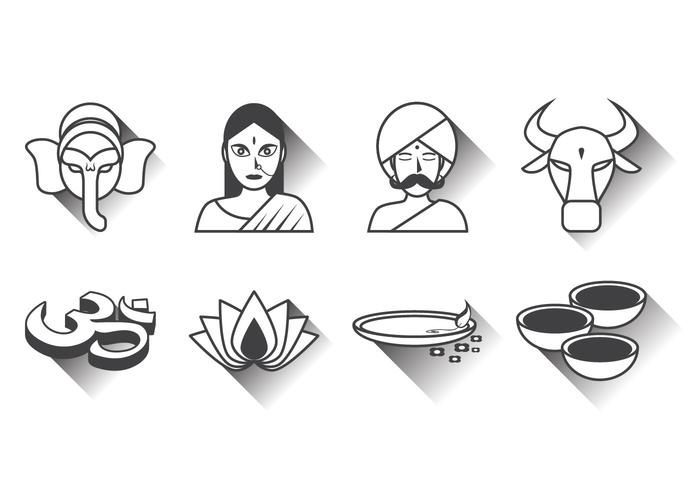 Gratis India Icon Vector