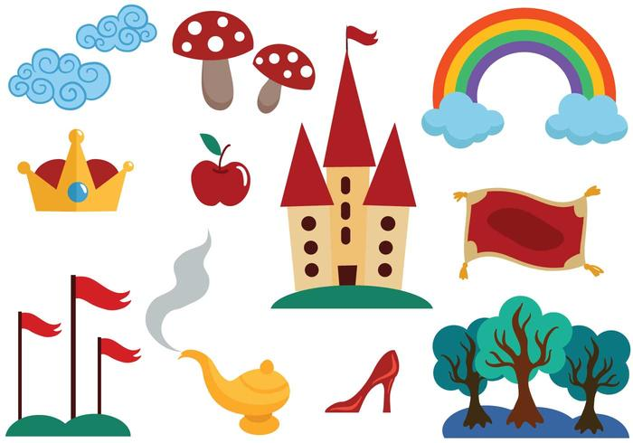 Free Fairytale Vectors