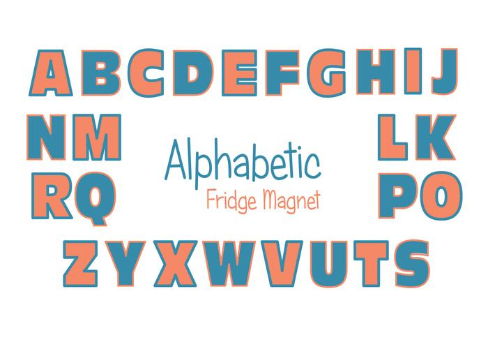 Fridge Magnet Vector Set