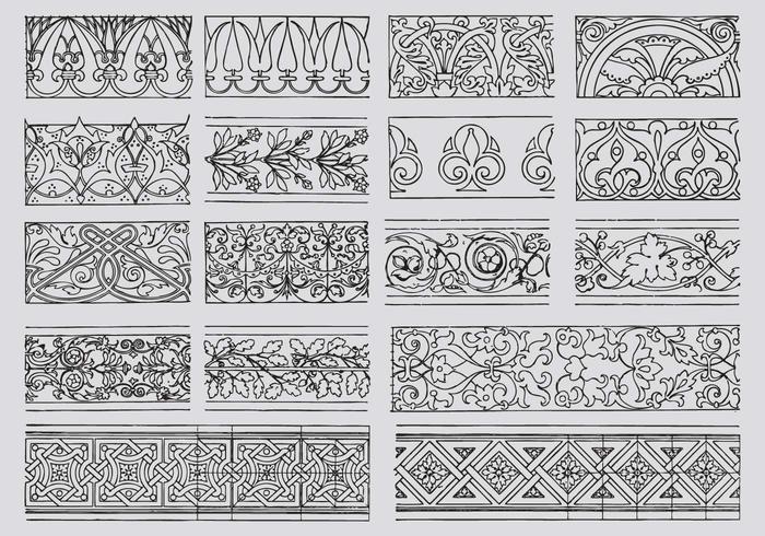 Bordi ornamentali