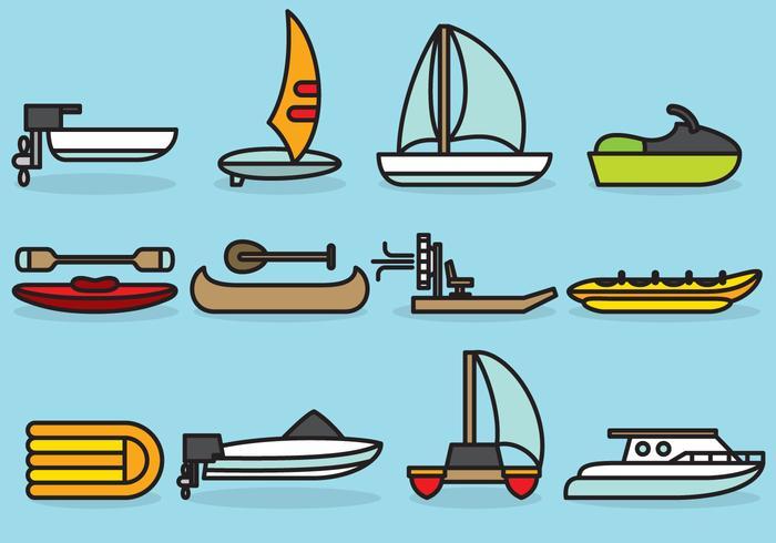 Cute Aquatique Transports