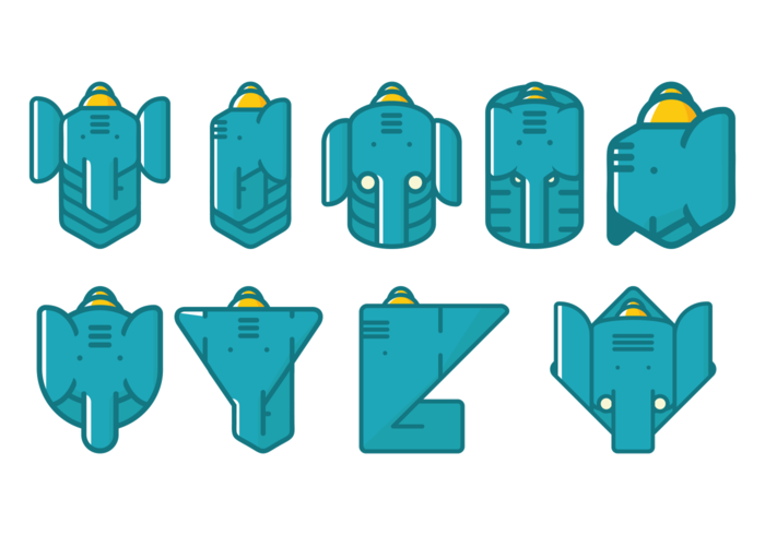 Ganesh Vector icons