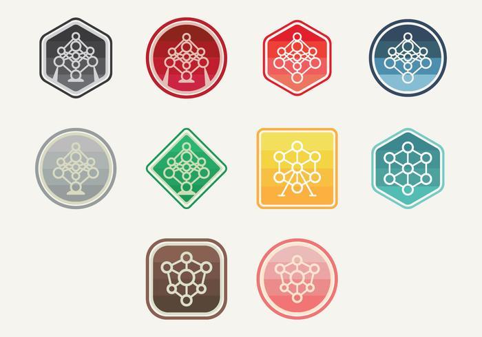 Icona di atomium