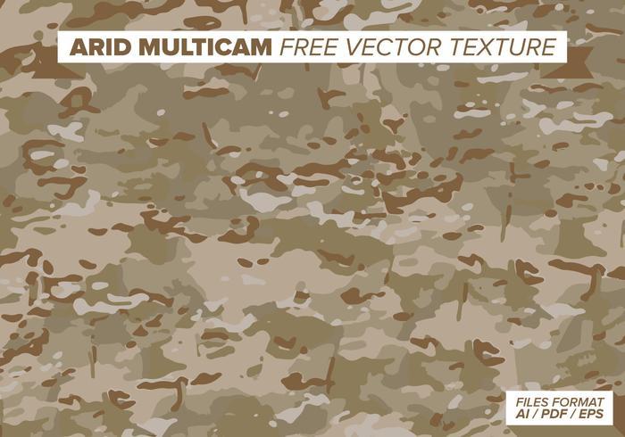 Arid Multicam Free Vector Texture