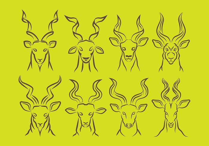 Kudu icons