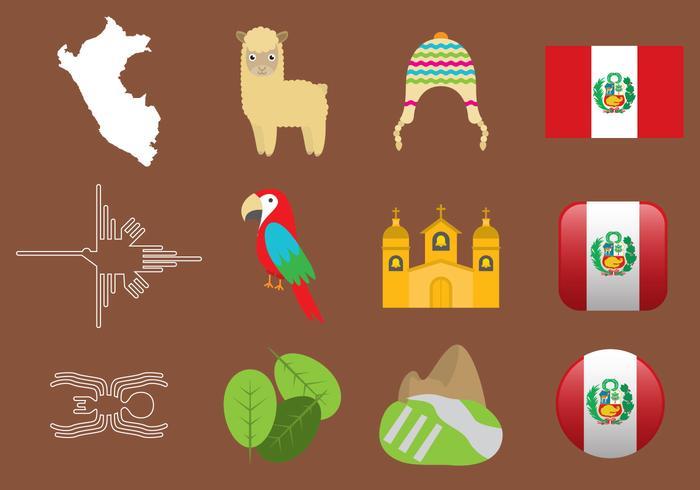 Peru Pictogrammen